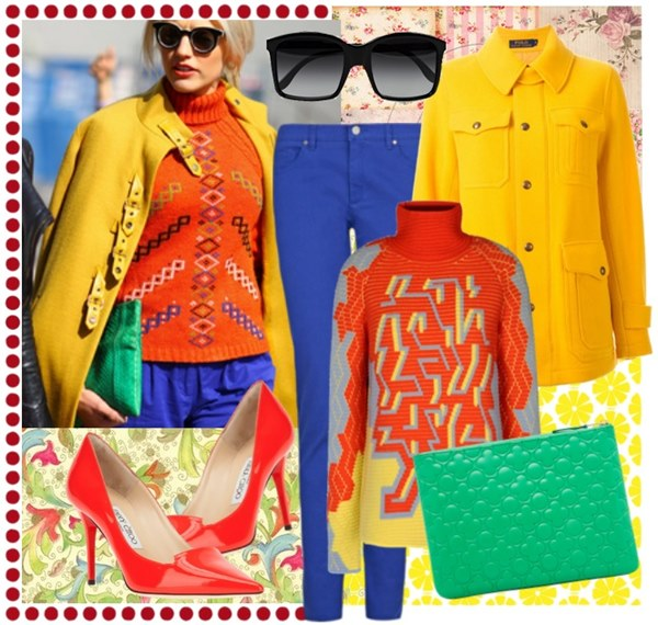 Vibrant Spring 2015 Fashion Look