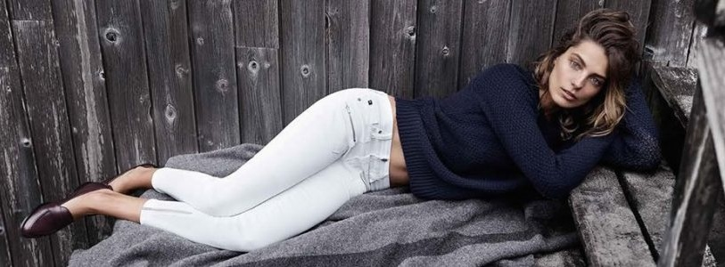 Ways to Wear White Skinny Jeans Spring Summer Trend