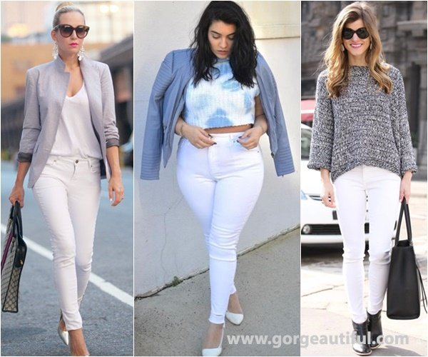 Neutral Shades and White Color Give A Subtle, Elegant Look into the Outfit