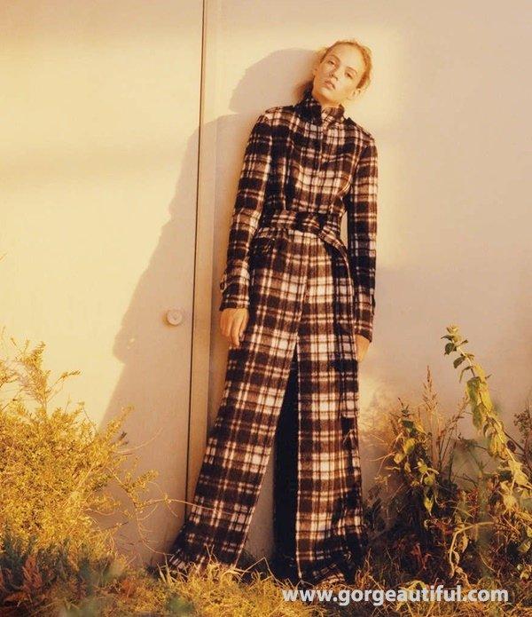 Zara Fall Winter 2015-2016 Sleek Bohemian Campaign 09