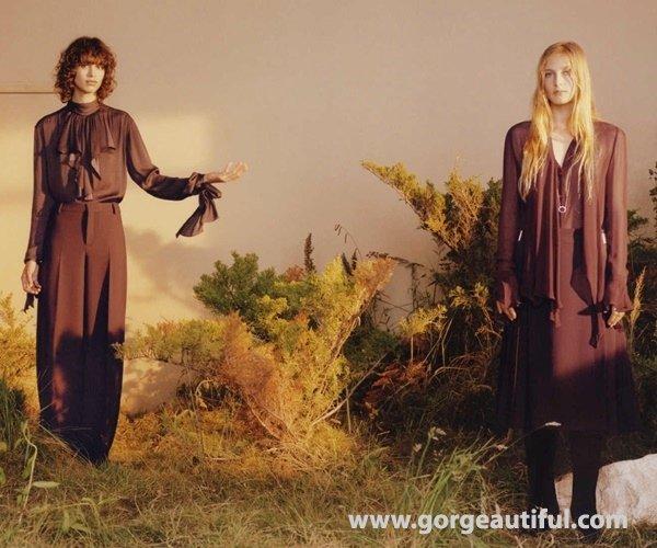 Zara Fall Winter 2015-2016 Sleek Bohemian Campaign 10
