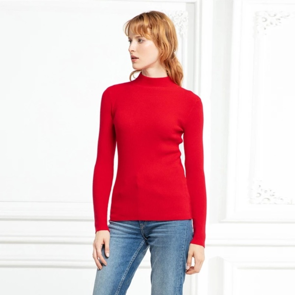 winter sweaters for women red