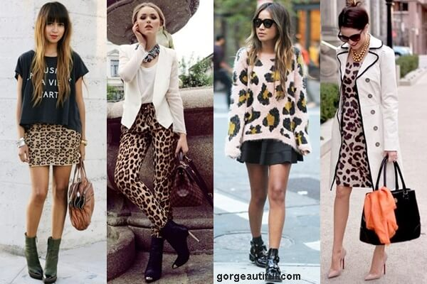 Leopard Print with Black or White